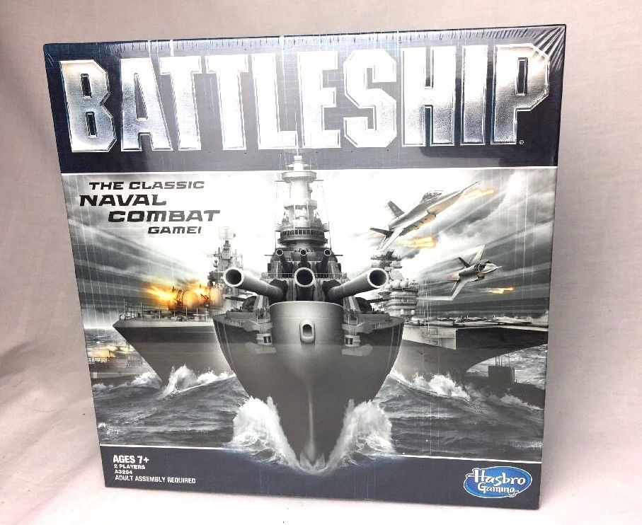 hasbro strategy Manufactured by hasbro / parker brothers php 85289 battleship the classic naval combat strategy board game from hasbro games.