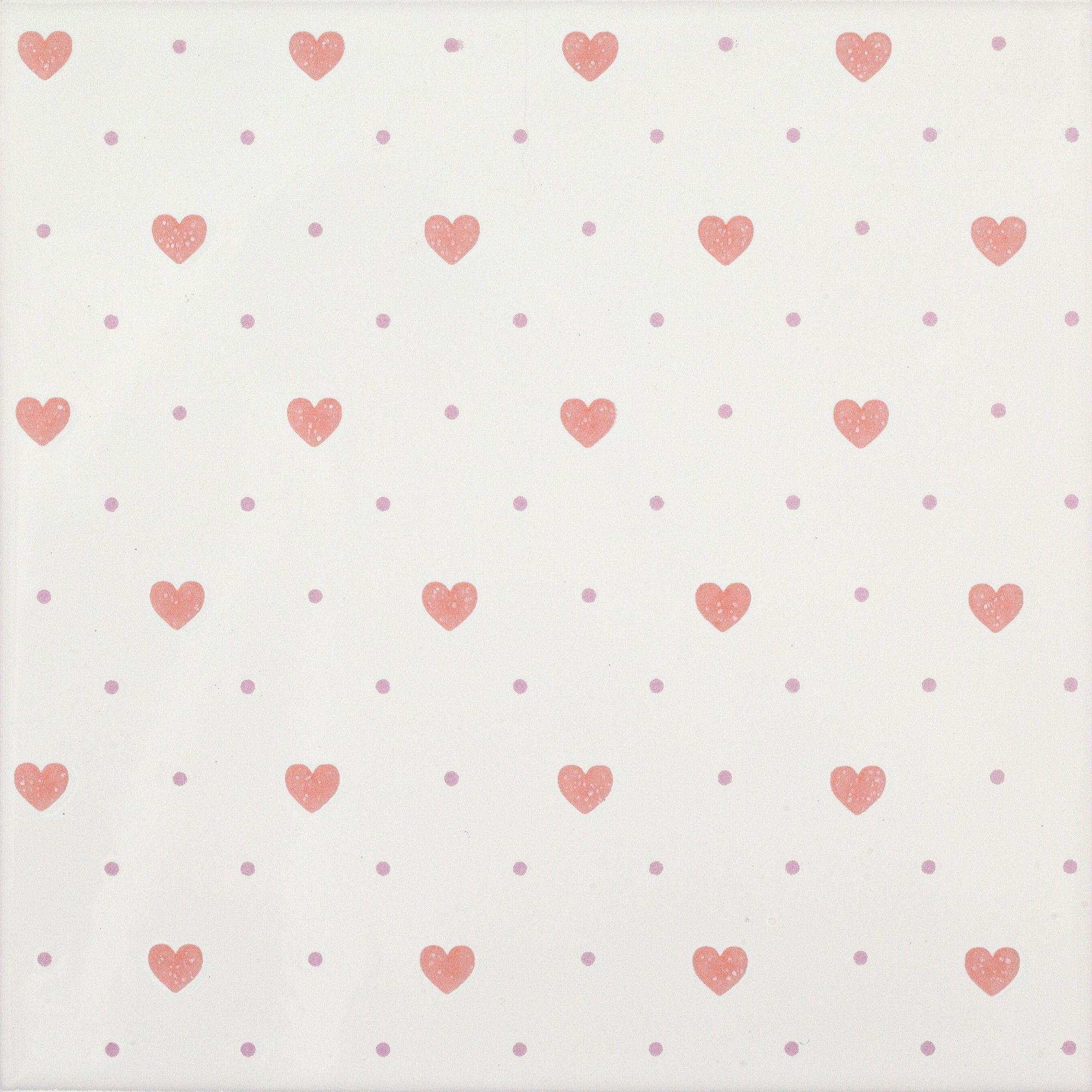 Welche Tapete Pt In Die Küche | Dado Love Rosa 20x20 Cm 302509 Feinsteinzeug Dekore 20x20
