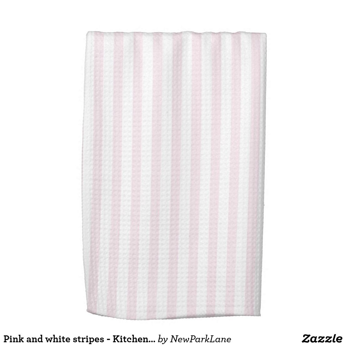 Pink And White Kitchen Towels