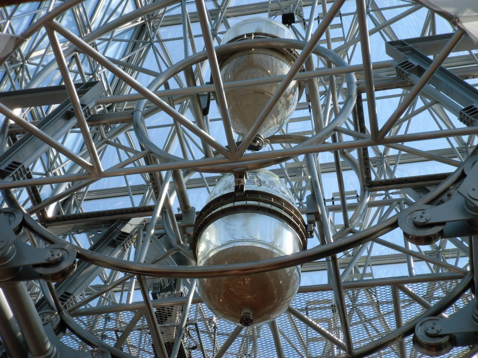 El reloj de arena más grande del mundo