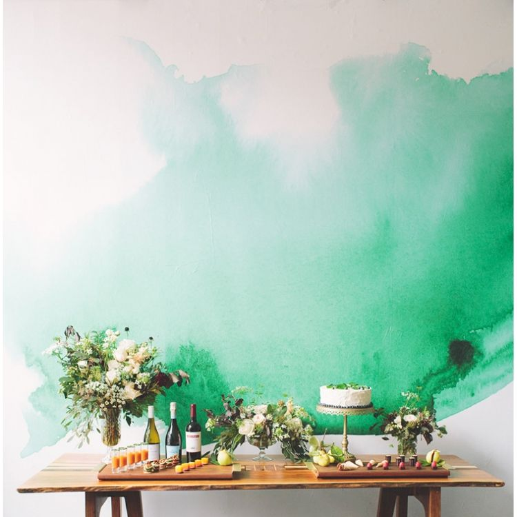 Minimalistic Watercolor Wallpaper Watercolor Wallpaper Wall