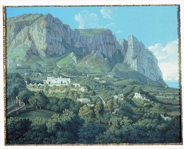 View of Anacapri, 1792 by Jacob-Philippe Hackert