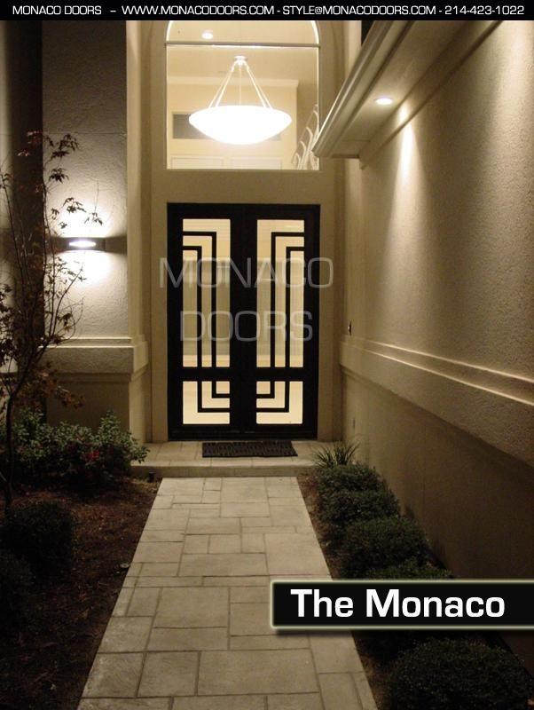 Iron Doors Monaco Doors Custom Doors Wrought Iron Doors In 2020 Wrought Iron Doors Wrought Iron Entry Doors Iron Entry Doors