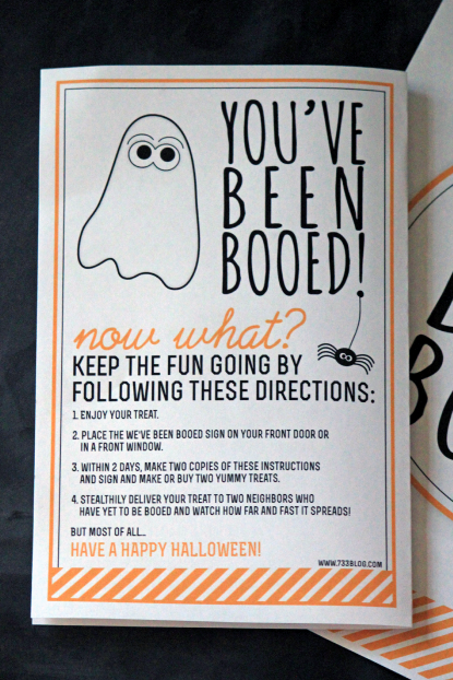 You\'ve Been Booed Printables | Halloween traditions, Holidays and ...