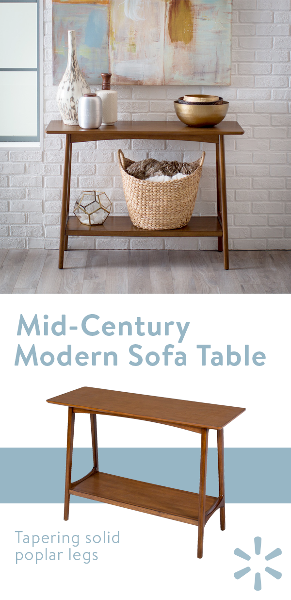 Awesome The Belham Living Darby Mid Century Modern Sofa Table Is A Gamerscity Chair Design For Home Gamerscityorg