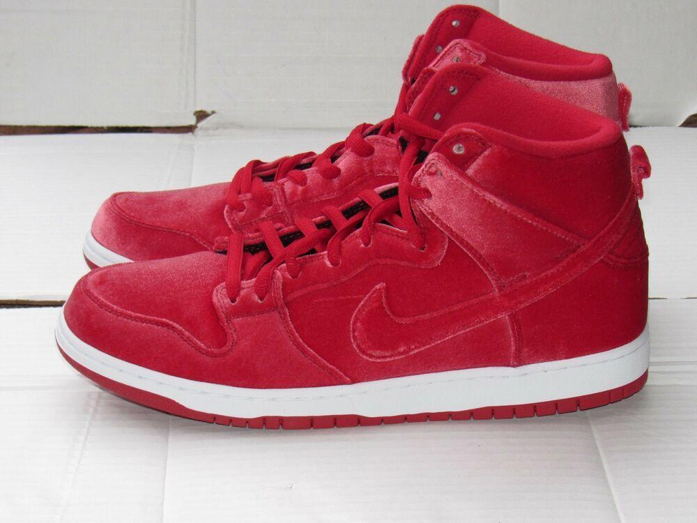 wholesale dealer 8485b c5cb3 New Nike Dunk High Premium SB Red Velvet Skateboarding Shoes 313171-661  Size 12  fashion  clothing  shoes  accessories  mensshoes  athleticshoes  (ebay link)