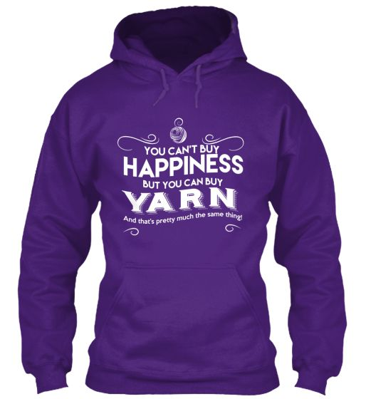 Happiness and Yarn: Pretty Much The Same | Teespring XL  in red....