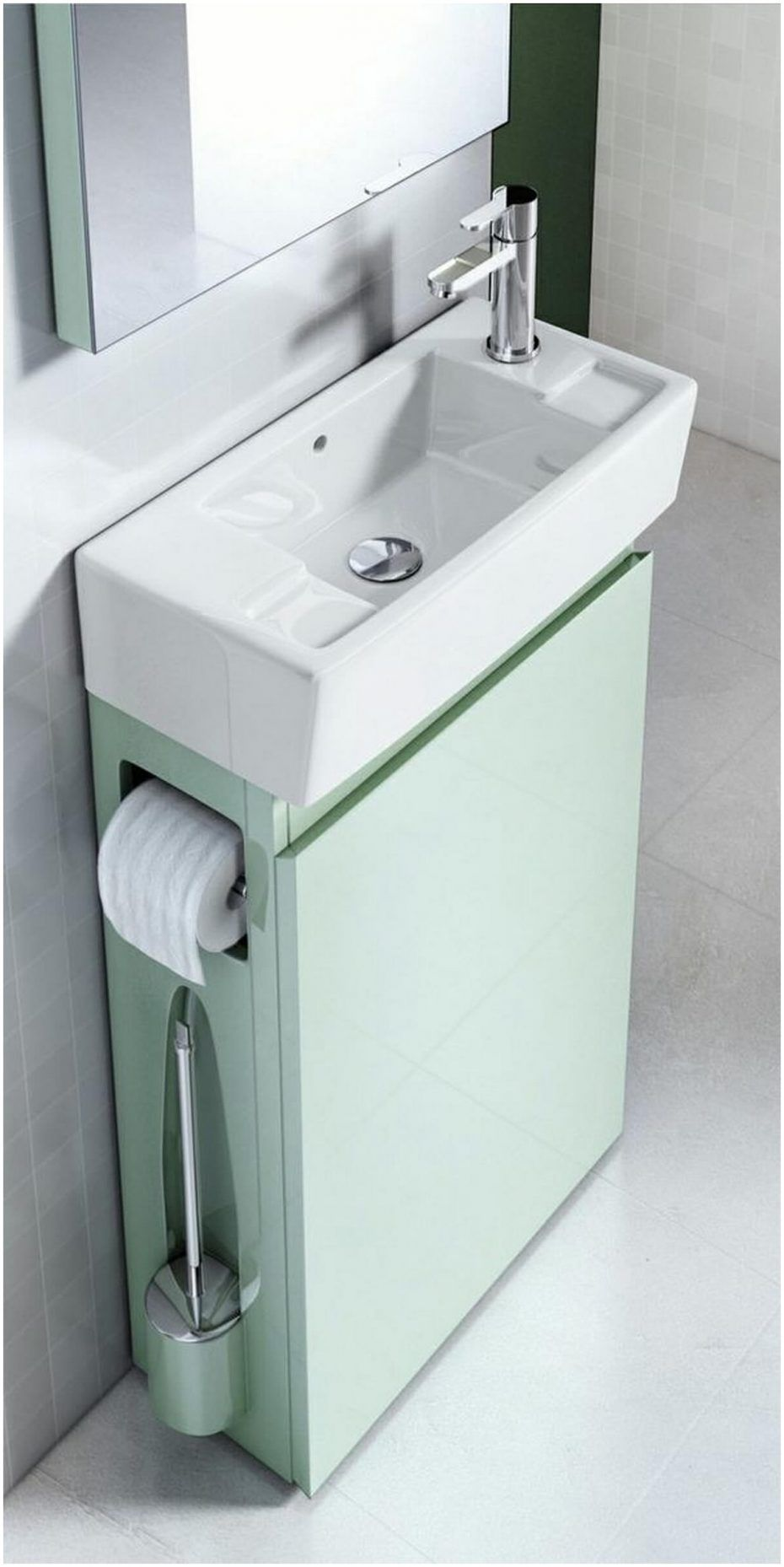 Bathroom. Small Bathroom Vanity Cabinets Ideas 18 Minimalist Is The ...