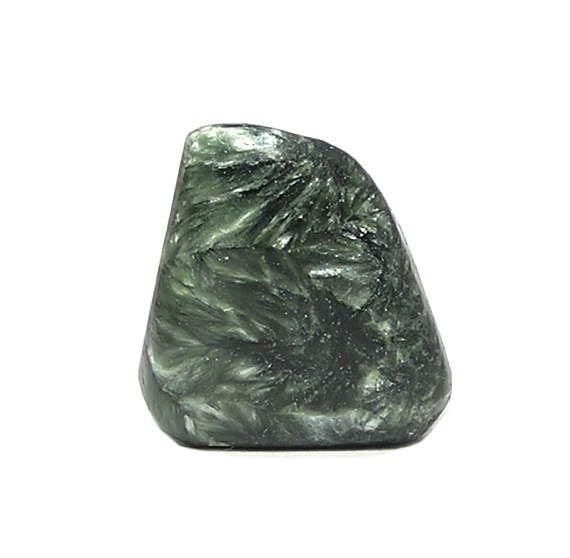 Seraphinite Clinochlore Rare Semiprecious feather stone Green