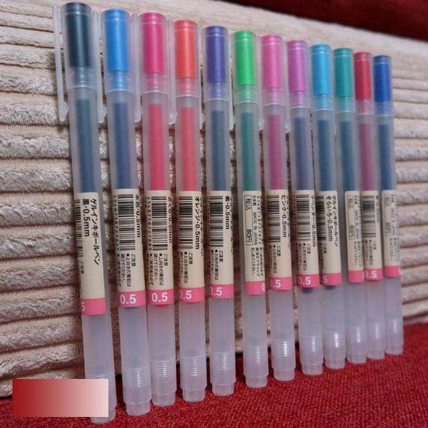 Top Muji encre Gel stylo à bille 0.5 mm japon livraison gratuite dans  YM36
