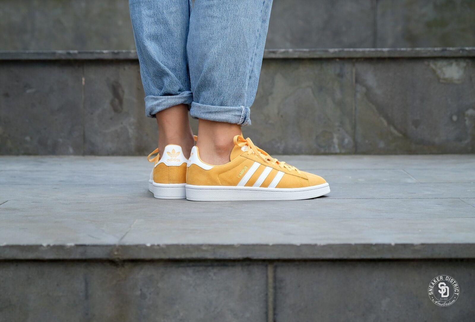 Adidas Campus W Chalk Orange/Footwear