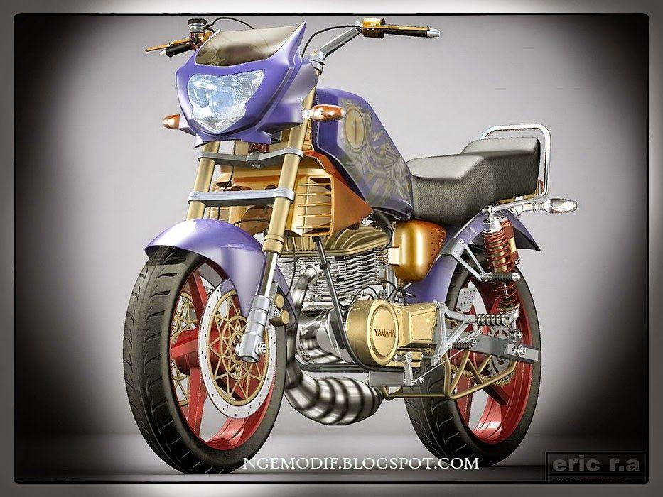 Modifikasi Motor Yamaha Rx King Di Akhir Tahun 2014