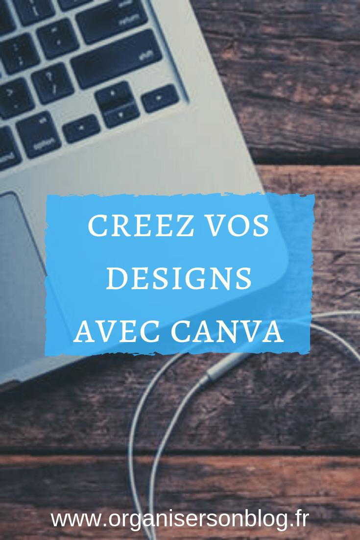 Utilisez Canva pour créer vos designs Publication