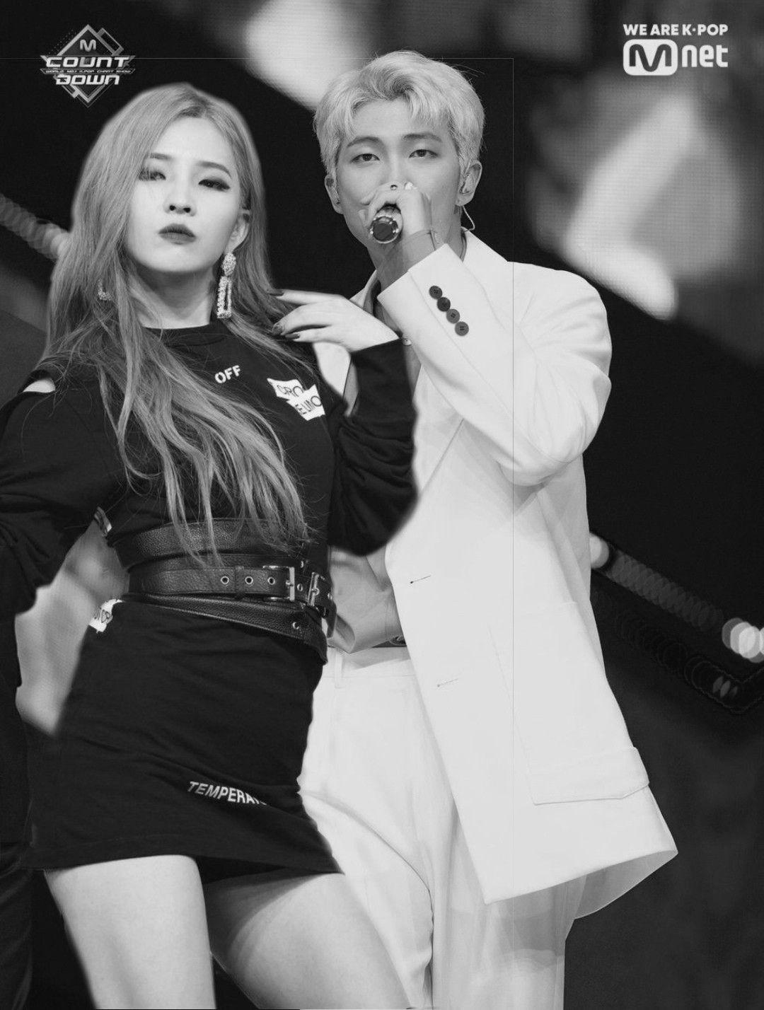 Rm X Soyeon Bts Kpop Idol