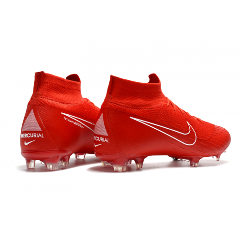 Nk Mercurial Superfly Vi 360 Elite Fg Soccer Cleats Red Girls Soccer Cleats Nike Football Boots Soccer Shoes