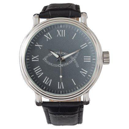 Ichthus | Christian Fish Symbol Wrist Watch - modern gifts cyo gift ideas personalize