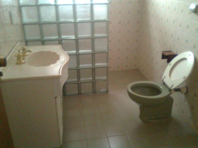 banheiro decorado com bloco de tijolo de vidro  CASAS  Pinterest  Tijolo,  -> Banheiro Decorado Com Tijolos De Vidro