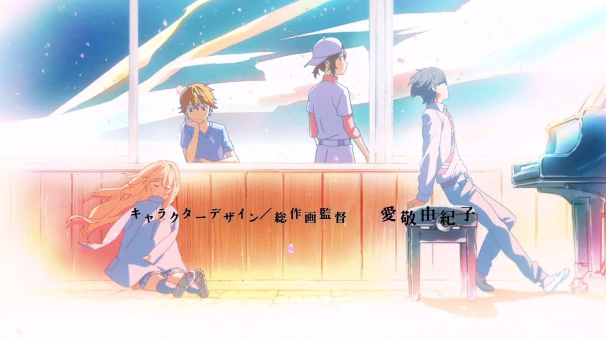 Image result for shigatsu wa kimi no uso characters