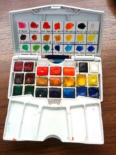 Kuretake Watercolor Travel Kit Watercolor Kit Travel Kits