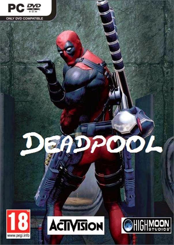 Resultado de imagen para deadpool game  caratula