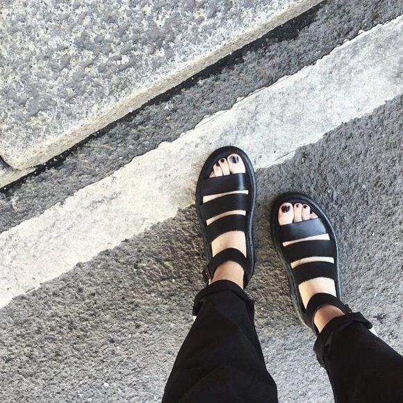 Dr  Martens Shoes  Doc Marten Clarissa Sandals docmartensoutfit is part of Doc martens outfit -