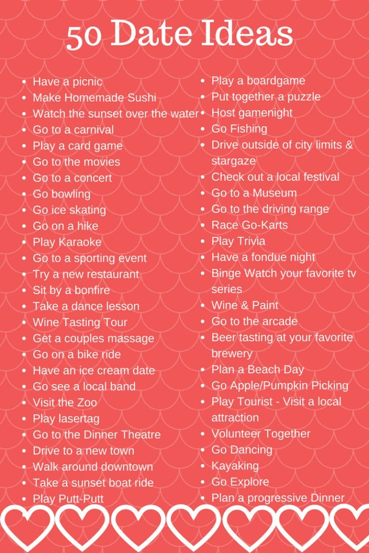 50 Date Night Ideas + FREE Babysitter's Checklist Printable #boyfriendgiftsdiy