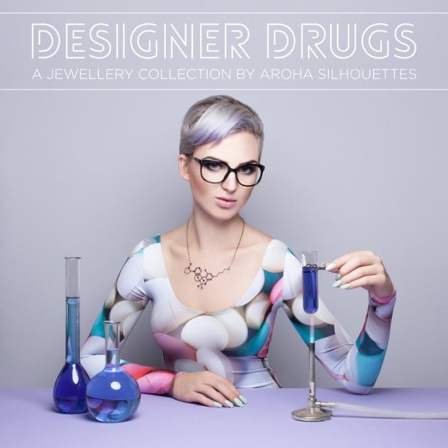 A Collection Of Eye Catching Molecular Hybrid Necklaces By Aroha Silhouettes