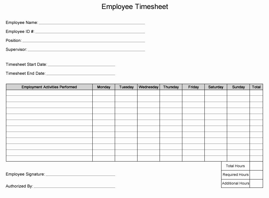 Employee Time Card Template Luxury Free Printable Multiple Employee Time Sheets Printable Pages Contract Template Time Sheet Printable Sign In Sheet