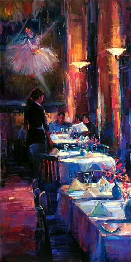 michael flohr, lunch with degas