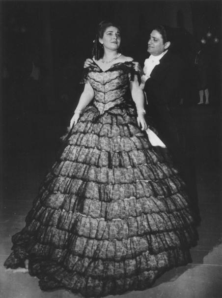 Con Francesco Albanese, Teatro La Fenice (1953) | Maria callas, Calla