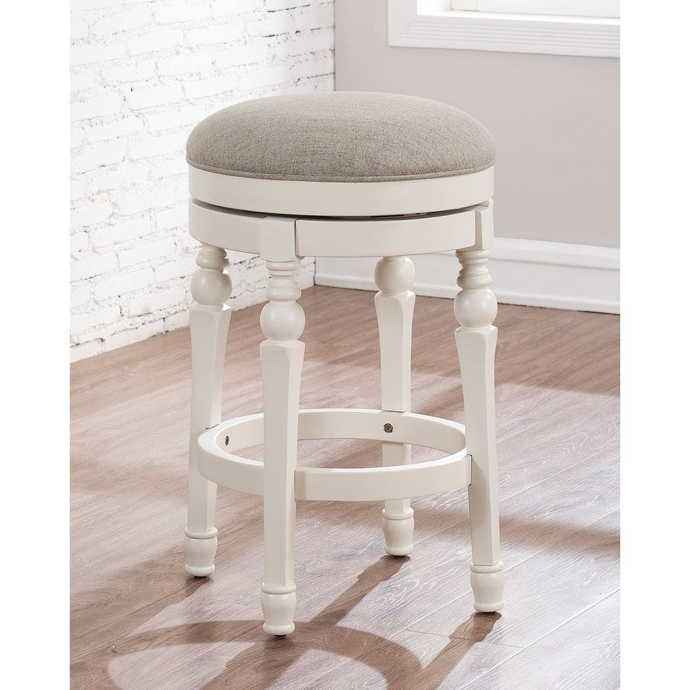 Peachy Shop Carella 26 Inch Backless Counter Stool By Greyson Bralicious Painted Fabric Chair Ideas Braliciousco