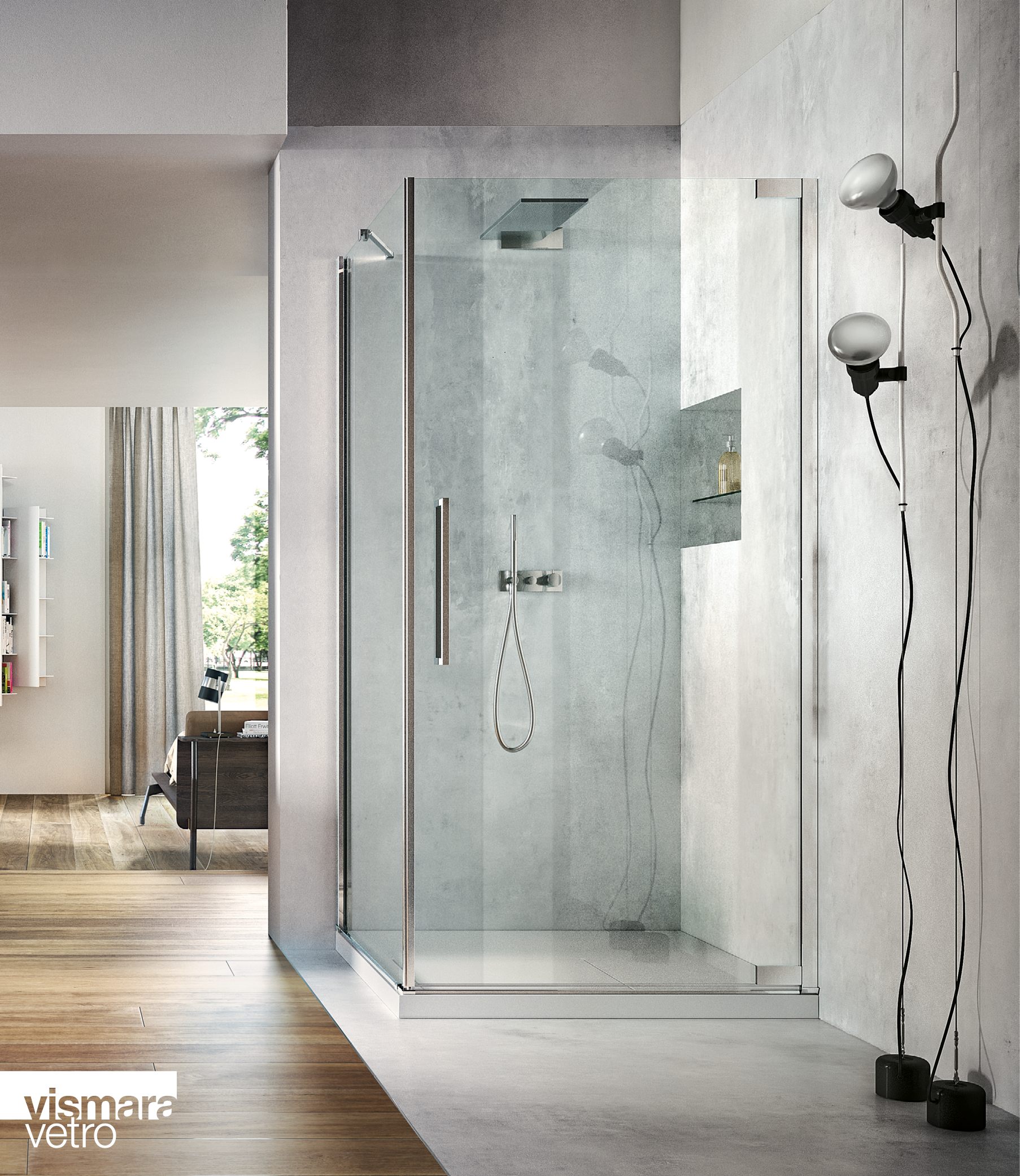 Flare By Vismaravetro The Pivot Door Shower Enclosure In 2020 Shower Enclosure Pivot Doors Shower
