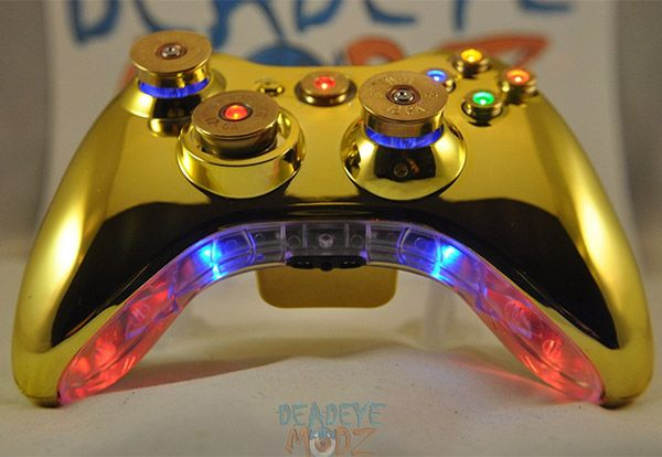 Xbox 360 Bullet Buttons Get Lit Up Xbox Jogos Ps4