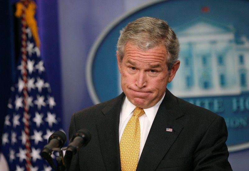 President George W Bush Fool Me Once Shame On You Fool Me You