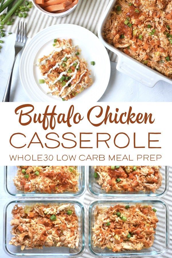 Whole30 buffalo chicken casserole easy low carb meal prep receta forumfinder Image collections