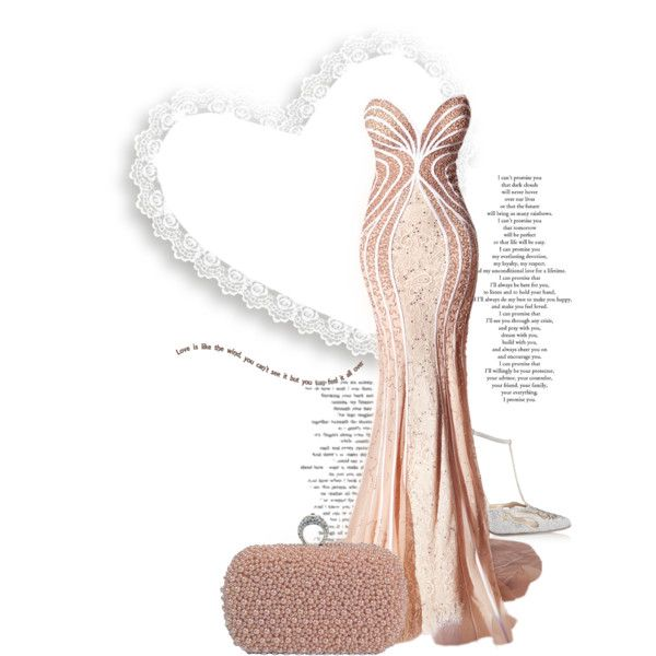 Love Is My Heart! by the-house-of-kasin on Polyvore featuring moda, René Caovilla, women's clothing, women's fashion, women, female, woman, misses, juniors and gownsgalore