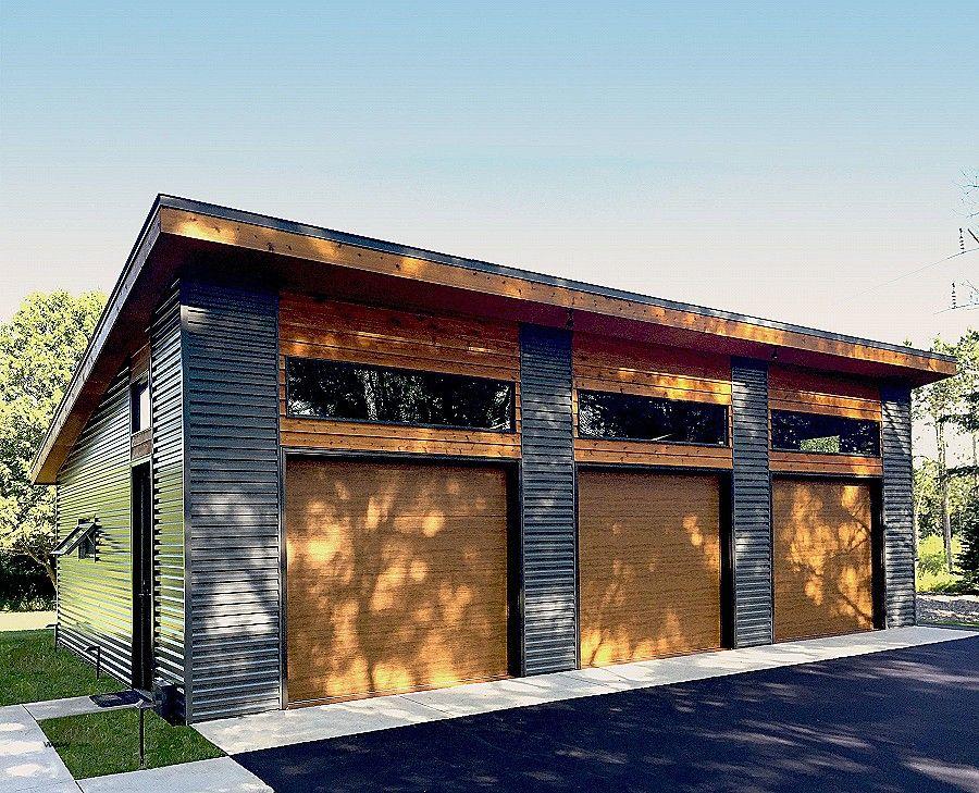 Mid Century Modern Storage Shed Buethe Org Modern Garage Garage Plan Garage Decor