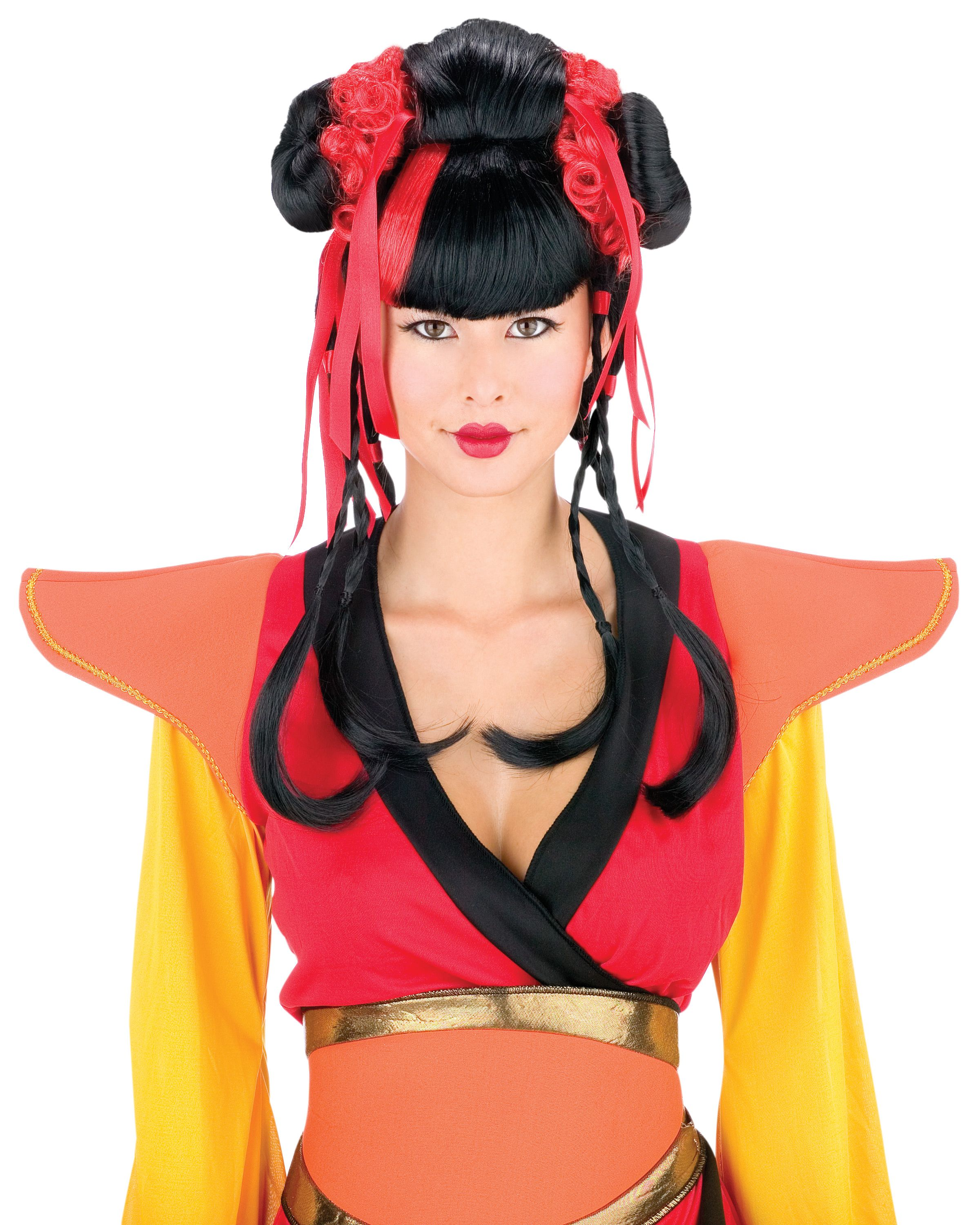 Couture Geisha Wig ThePartyWorks Halloween costume