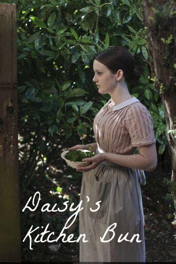 Downton Abbey Hairstyles Daisy S Kitchen Bun Downton Abbey