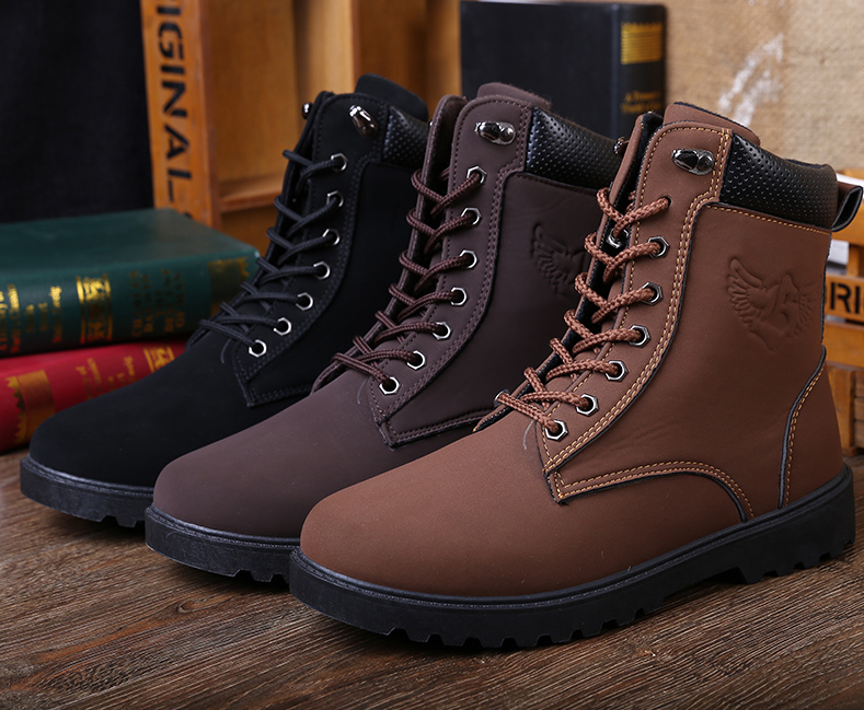 69439e7293f Urban cool casual boots for the rugged man - Made from high quality  materials - Available in 3 colors