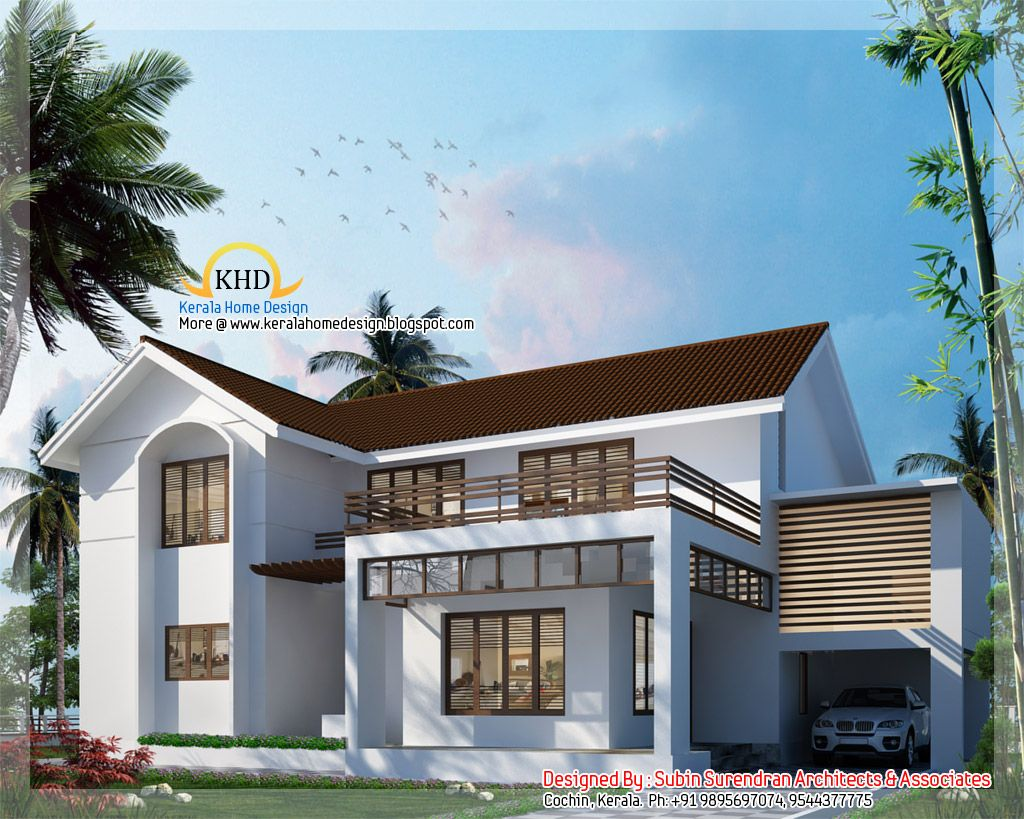 5 bedroom homes 3000 sq ft 5 bedroom villa elevation for 3000 sq ft house plans kerala