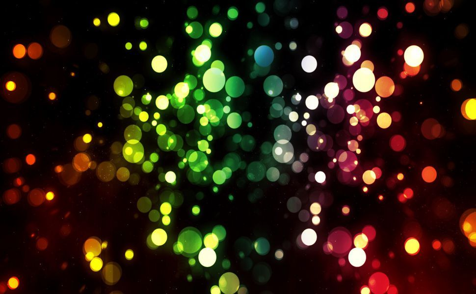 Led Lights HD Wallpaper Bokeh wallpaper, Bubbles