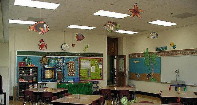 Beach Themed Classroom ::Diving into Fourth Grade! by KTVee, via Flickr