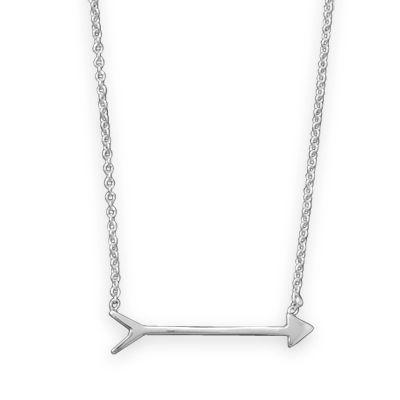 www.perfectlyjanejewelry.com - pretty little arrow necklace in sterling, $28.50 (http://www.perfectlyjanejewelry.com/pretty-little-arrow-necklace-in-sterling/)