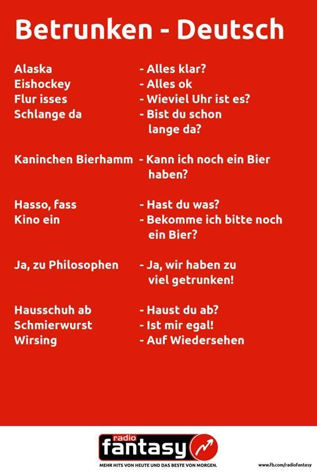 Bier spr che englisch directdrukken - Lustig auf englisch ...