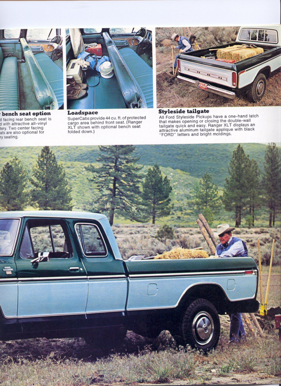 1979 Ford Truck Brochure Classic Ford Trucks 1979 Ford Truck Ford Truck