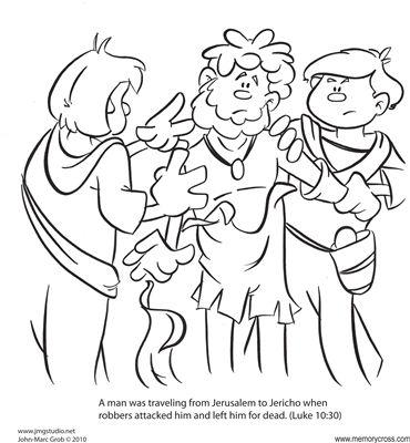 The Parable of the Good Samaritan 12/Pk Size: 6 x 6