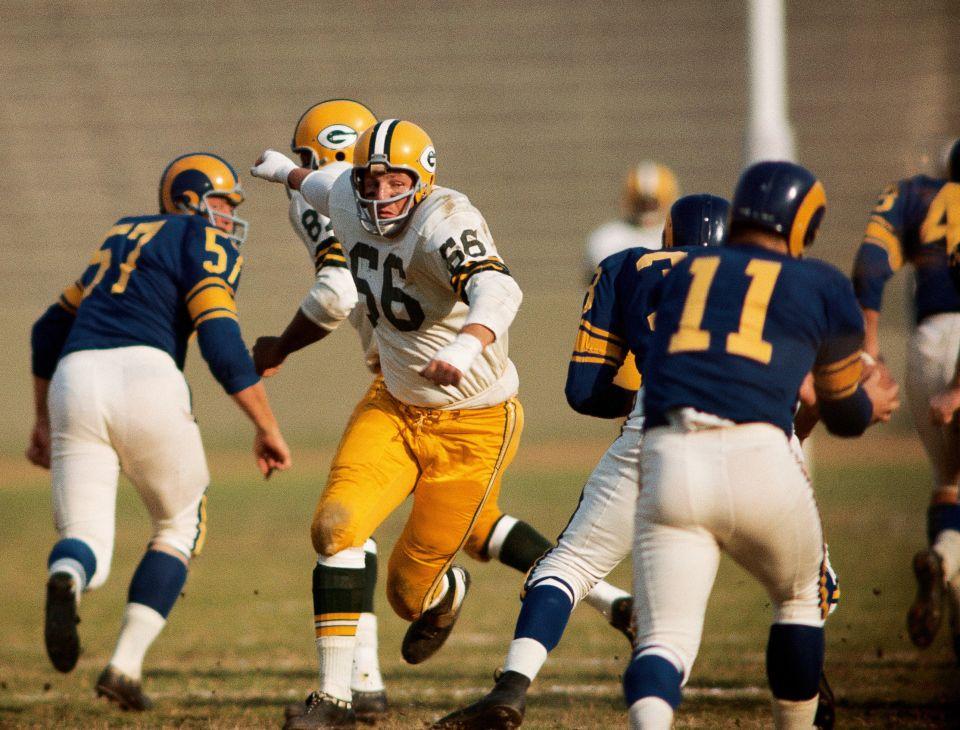 Ray Nitschke, Green Bay Packers | Pro Football | Pinterest | Fútbol ...