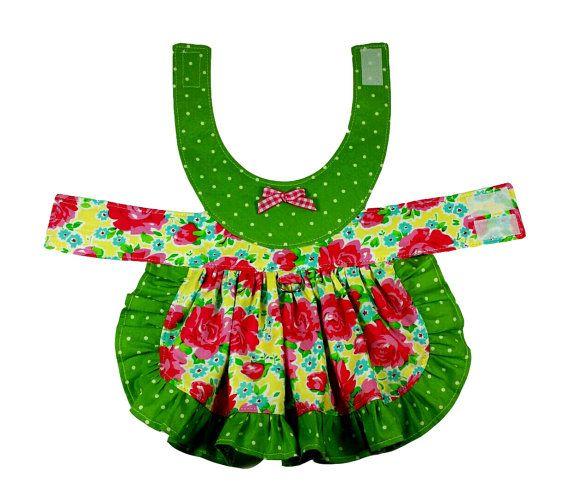 Dog Clothes Pattern PDF, Sewing Pattern, Watermelon Dress, Size ...