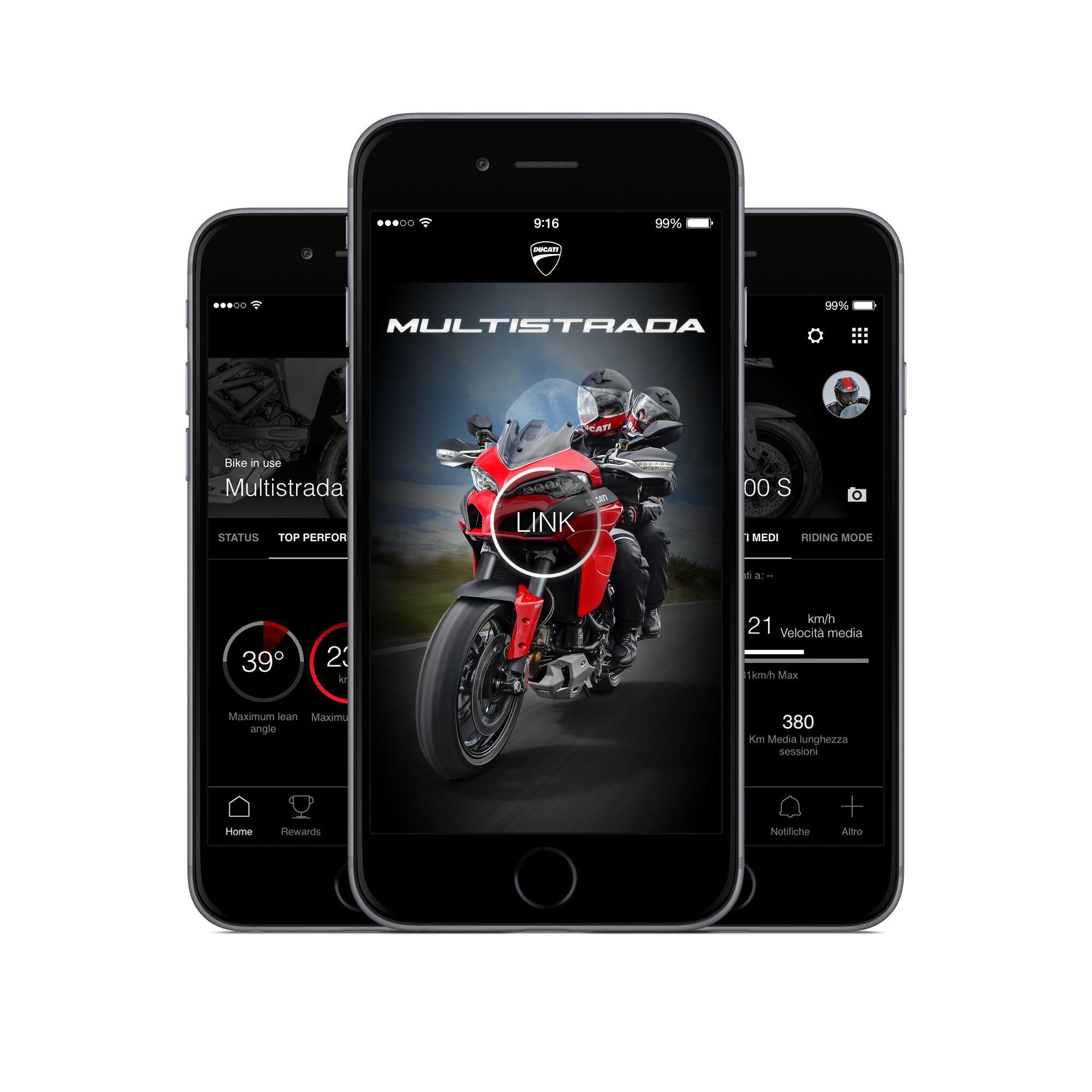 New app ducati link with images ducati multistrada